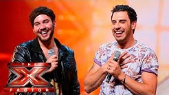 There Shure is a lotta love in the room   Auditions Week 4   The X Factor UK 2015