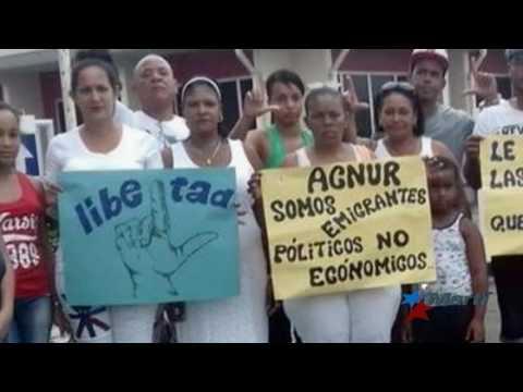 Presidente de Surinam no concederá asilo político a migrantes en protesta