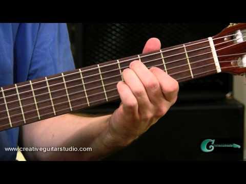 Sliding Chords Along the Fingerboard
