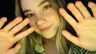 ASMR SPA OIL MASSAGE ROLEPLAY! Face Touching, Liquid Sounds,...