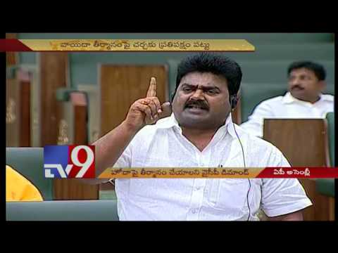 AP Assembly continues amidst of YCP leaders AP Special Status slogans - TV9