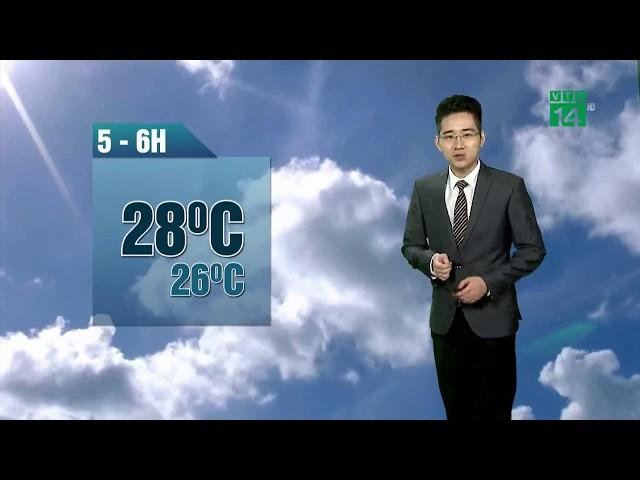 VTC14   Thời tiết 6h 18/05/2018   Kết thúc những ngày nắng nóng đỉnh điểm tại Bắc bộ và Trung bộ