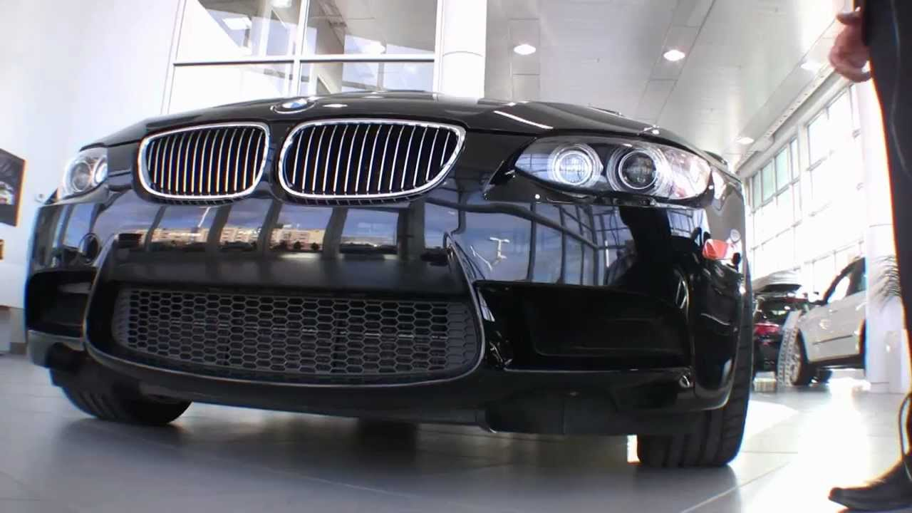 Bmw West Island >> 2008 Bmw M3 Coupe With 414hp V8 Black On Red Used From Bmw West Island