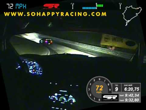 24 Hours Nürburgring Nordschleife 2010 Onboard Race at Night