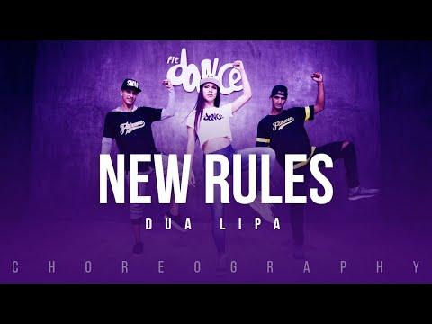 New Rules  - Dua Lipa | FitDance Life (Choreography) Dance Video thumbnail