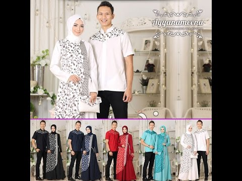 Baju Couple Batik Terbaru 2018 Baju Muslim Couple Keluarga 2018