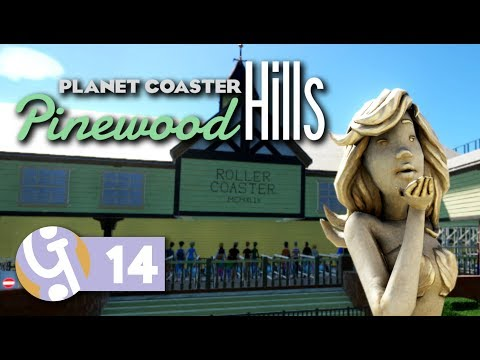 Midway Games & Much More! | Pinewood Hills | Let's Play Planet Coaster #14