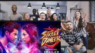 STREET DANCER 3D trailer reaction by foreigners