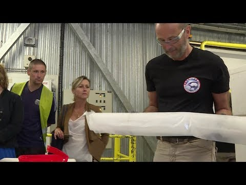 Scientists studying ice cores in France to explore climate history