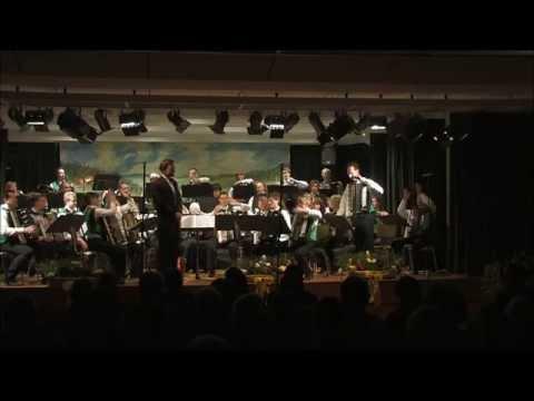 Harmonikaverein Wälderbuebe Linach e.V. Jahreskonzert 2014 Hauptorchester