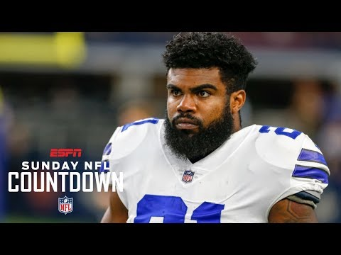 Randy Moss sends a message to Ezekiel Elliott | NFL Countdown | ESPN