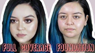 Full coverage foundation | kevyn aucoin sensual skin enhancer | rebecca ann