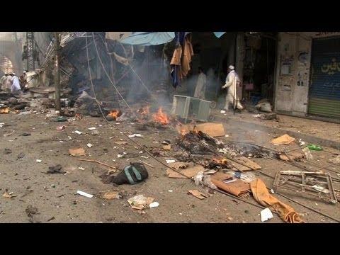Bomb Kills Dozens In Pakistan's Peshawar
