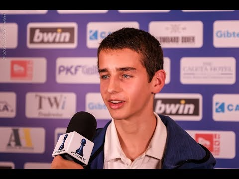 Round 9 Gibraltar Chess post-game interview with Lance Henderson