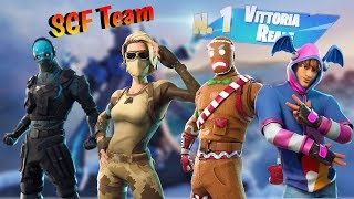 -Fortnite Vittoria reale 15 kills TOT in squad del team SCF🔥🔥