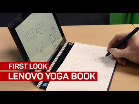 The Lenovo Yoga Book Is A Slim Hybrid For Sketch Artists