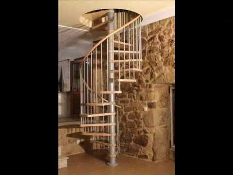 Escalera caracol en kit modelo klan youtube for Gradas de caracol