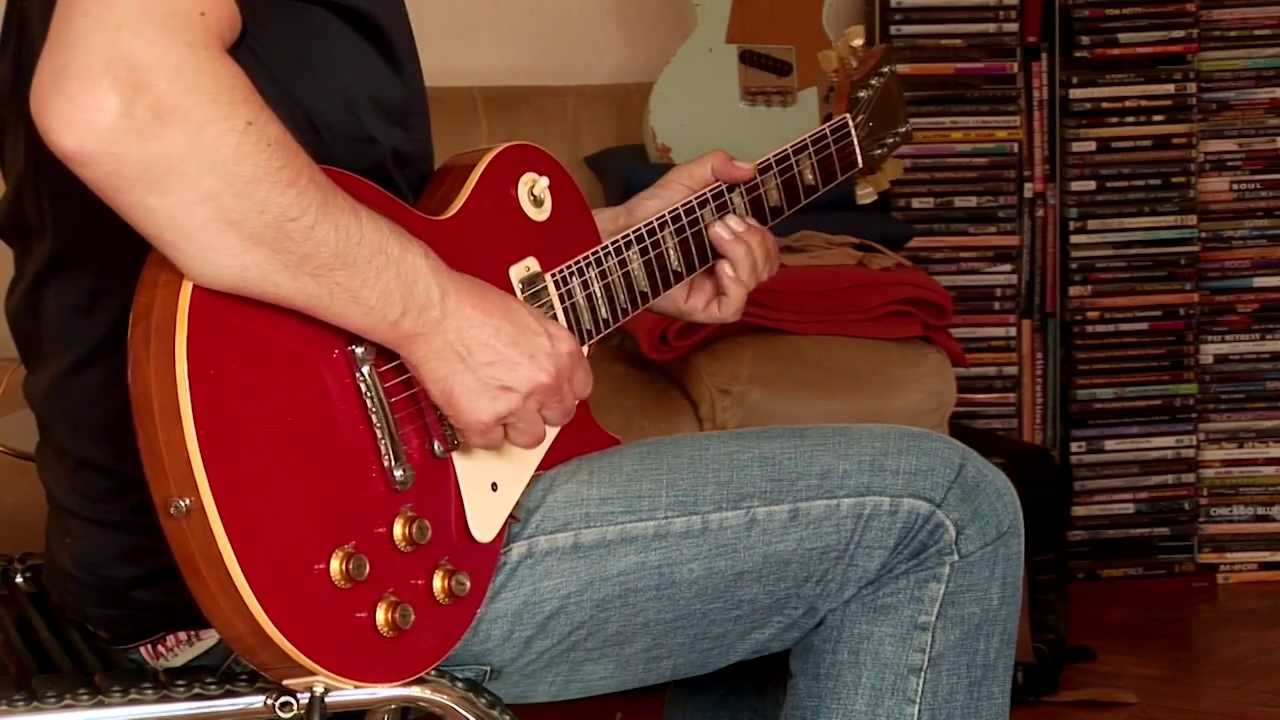 Gibson Les Paul Red Sparkle