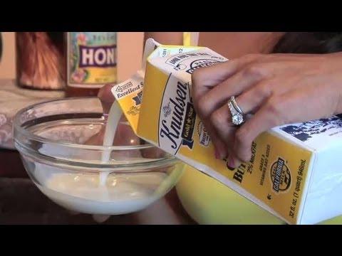 Moisturizing Skin With a Milk & Honey Mixture : Skin Care Tips