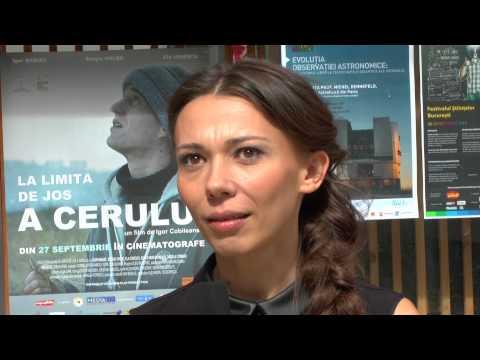 Ela Ionescu despre lucrul pe platoul de filmare