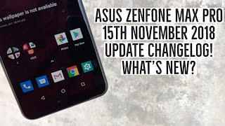 january update asus max pro m1