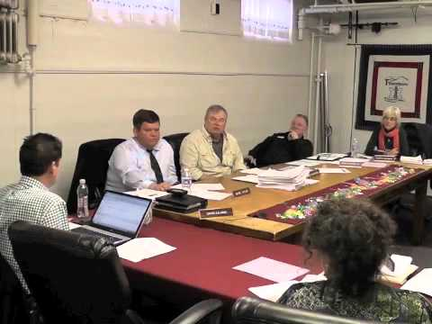 Ticonderoga Town Board Meeting  4-10-14