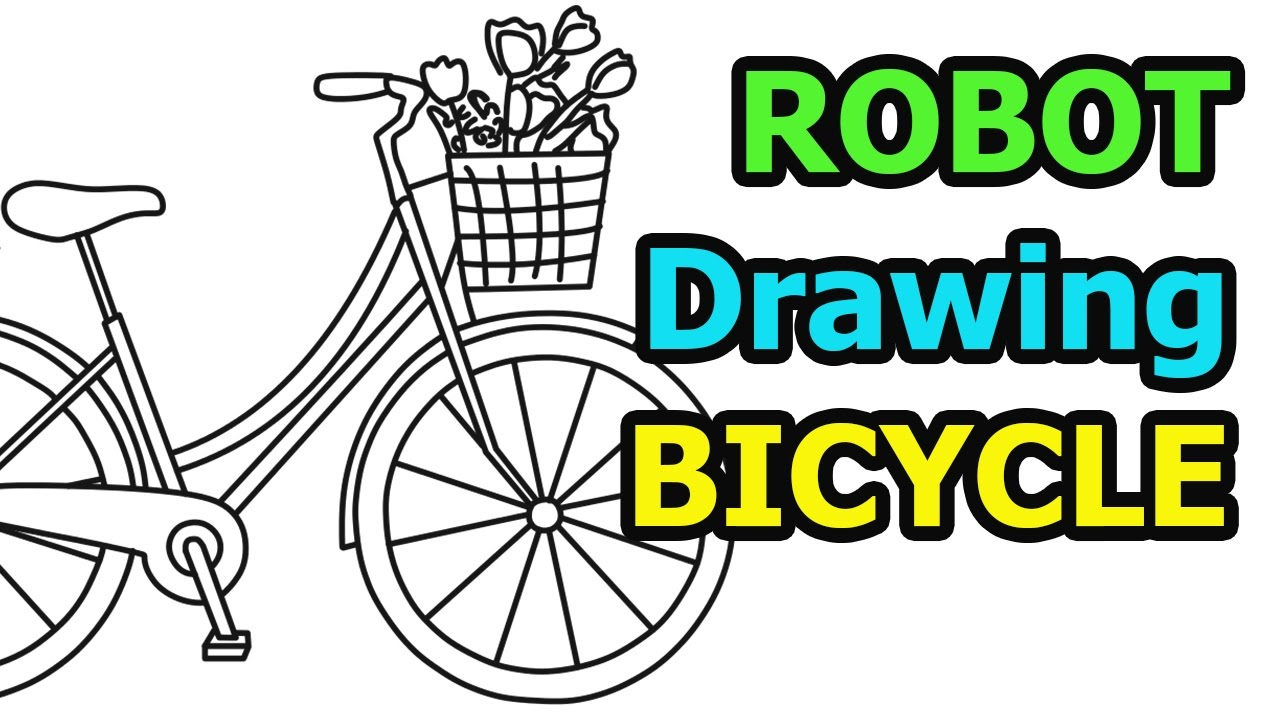 How To Draw A Bicycle Quick Easy Drawing For Kids Youtube