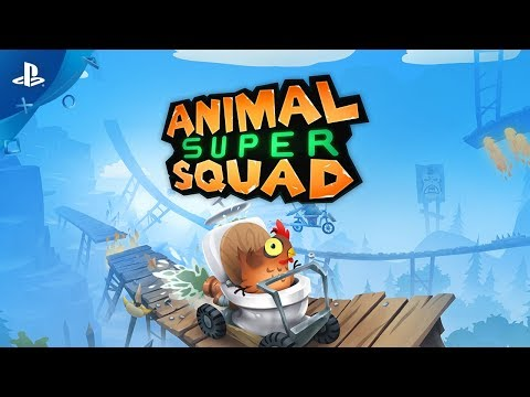 Animal Super Squad - Launch Trailer | PS4