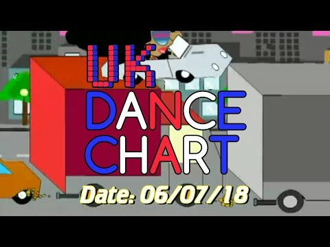 UK TOP 40 - DANCE SINGLES CHART + SHAZAM CHART (06/07/2018)