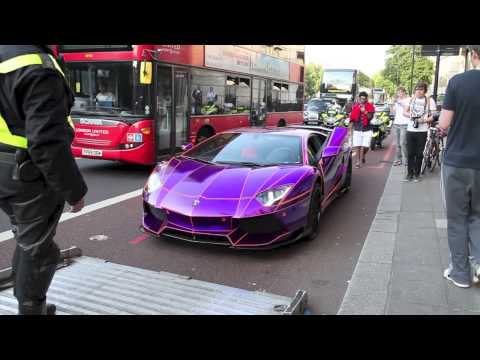 Arab Aventador Seized By Police Within 48 Hours!