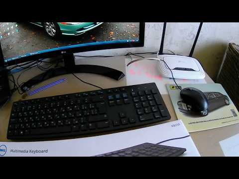 Клавіатура дротова Dell Multimedia KB-216 USB (580-ADGR)
