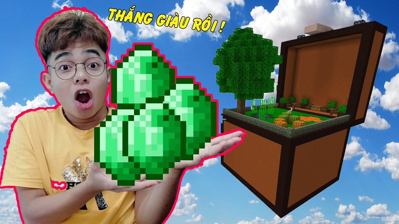 ThắnG Tê Tê Đào Được Rất Nhiều Kim Cương Trong Chiếc Rương Khổng Lồ Minecraft
