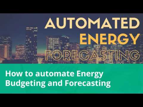Forecasting Energy Consumption and Cost