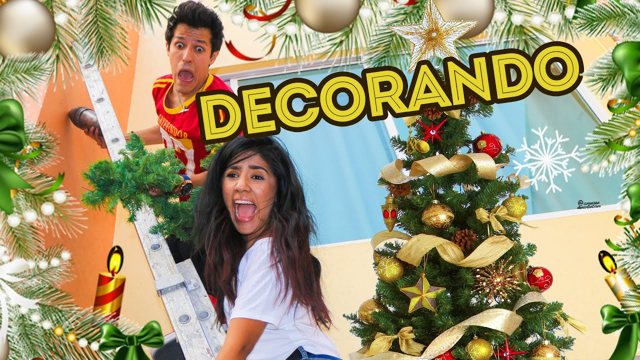 Casi morimos por decorar la casa para navidad los - Decorar la casa de navidad ...