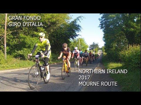 Gran Fondo Giro D'Italia 2017 Northern Ireland - Mourne Route