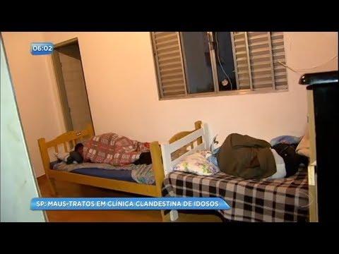 Idosos sofrem maus-tratos em clínica clandestina de São Paulo