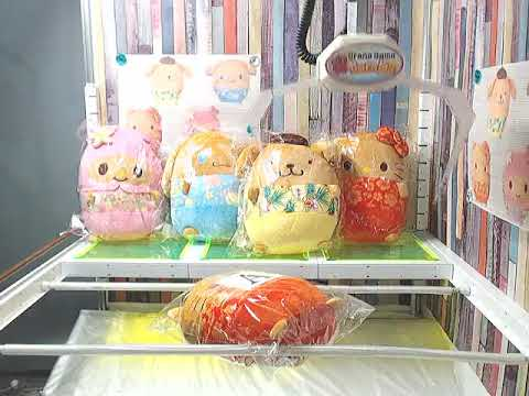 a5733f4be2 CRANE GAME WINNINGS 3 - Hello Kitty Sanrio Hawaiian Cushion A - YouTube
