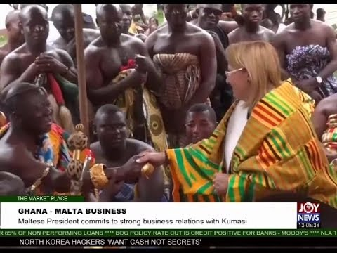 Ghana-Malta Business - The Market Place on Joy News (28-7-17)