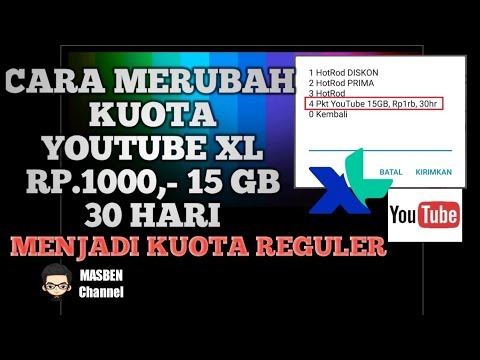 Cara Merubah Kuota Youtube Menjadi Kuota Reguler How To Change Youtube Quota To Become Regular Quota Youtube