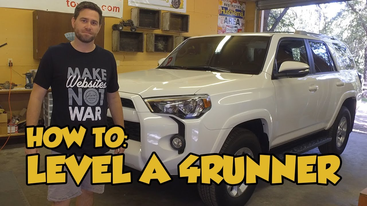 How to 02 spacer leveling kit 5th gen toyota 4runner youtube how to 02 spacer leveling kit 5th gen toyota 4runner solutioingenieria Choice Image
