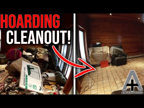 Timelapse of Cleaning Out a Hoarder's House in Pittston, PA