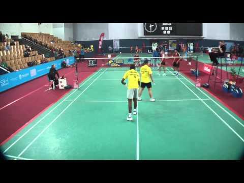 TV Court GJ 2013 // Simon Wang & Luise Heim vs. Darren Isaac Devadass & Joyce Wai Choong (2nd set)