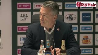 1878 TV | Pressekonferenz 24.01.2020 Augsburg - Düsseldorf 2:0