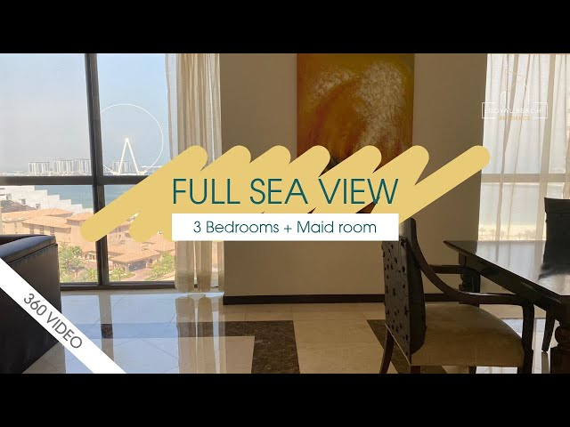 3 BR APARTMENT WITH FULL SEA VIEW