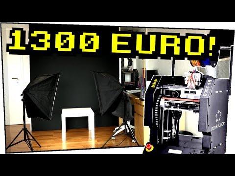Ich habe mir mein NEUES 1300€ STUDIO selber gebaut! Mit dem 3D Drucker – Do it yourself #19