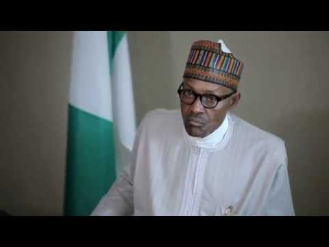 Buhari Mocks SaharaReporters During His Last Press Conference In New York