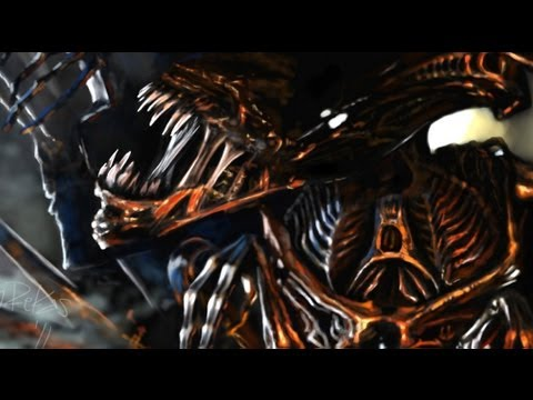 Queen of Xenomorph - Prometheus - Speed Painting by Greg ...Xenomorph Queen Prometheus