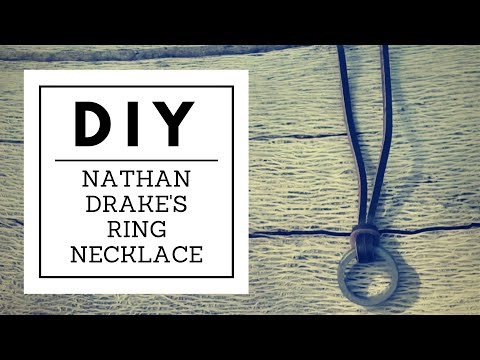 Diy Nathan Drake S Ring Necklace Nerd Builds Youtube