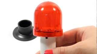 Flashing Light for Traffic Cones-Demo