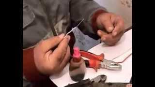 Уроки электрика. Пайка алюминиевых проводов